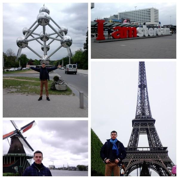Леонид Орлан, поездки по Европе