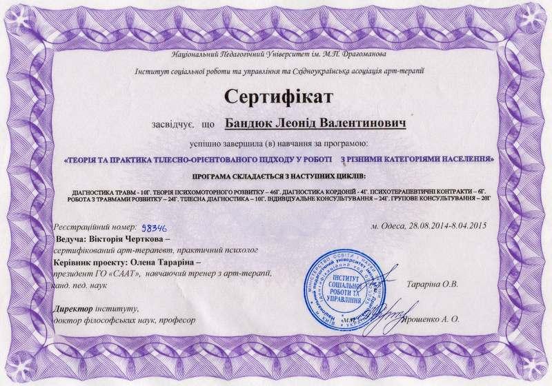 Мои дипломы Леонид Орлан  13 07 2014 Тема смерти в психотерапии